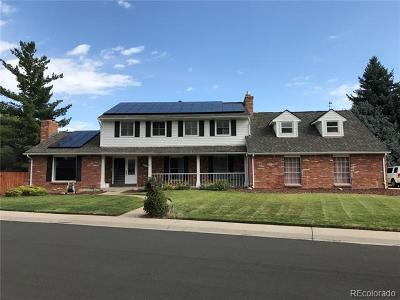 Englewood Single Family Home Active: 10705 East Powers Drive