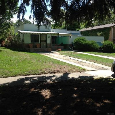 Park Hill, Parkhill Single Family Home Active: 1560 Kearney Street