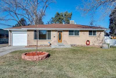 Arvada Single Family Home Active: 7307 West 64th Avenue
