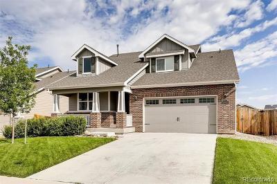 Dacono Single Family Home Active: 645 Dukes Way