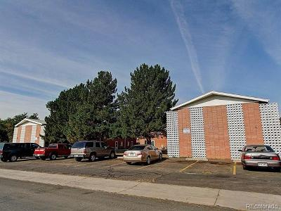Wheat Ridge Condo/Townhouse Active: 2787 Harlan Street #4