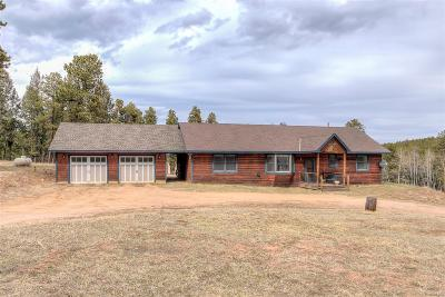 Conifer Single Family Home Under Contract: 27857 Richmond Hill Road