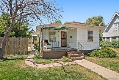 Regis Single Family Home Active: 4859 Lowell Boulevard