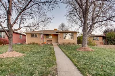 Denver Single Family Home Active: 1440 South Marion Street