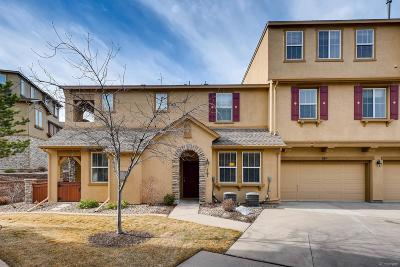 Highlands Ranch Condo/Townhouse Under Contract: 10526 Ashfield Street #16A