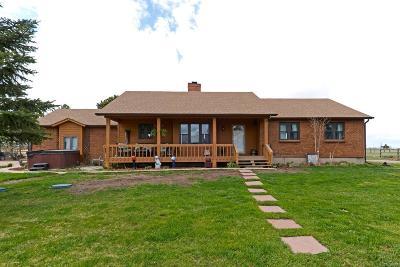 Elbert CO Single Family Home Active: $525,000