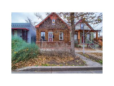 Denver Single Family Home Under Contract: 3934 Pecos Street
