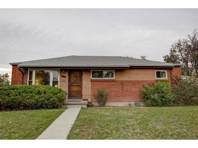 Single Family Home Active: 1360 South Vrain Way
