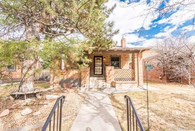 Denver Single Family Home Active: 2038 Jasmine Street