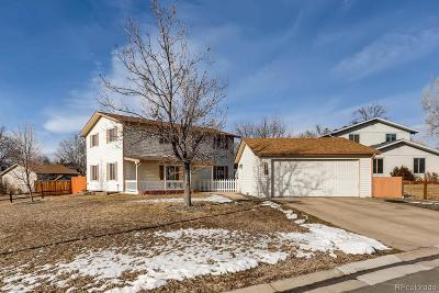 Broomfield Single Family Home Under Contract: 9236 Pierce Street