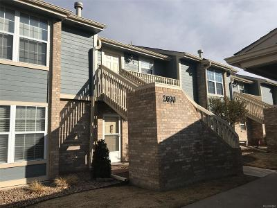 Centennial Condo/Townhouse Under Contract: 2690 East Otero Place #5