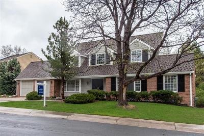 Centennial Single Family Home Under Contract: 7162 South Glencoe Circle