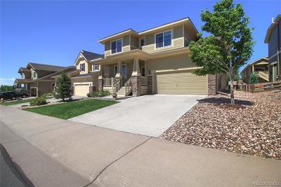 Castle Rock Single Family Home Under Contract: 3064 Trailblazer Way