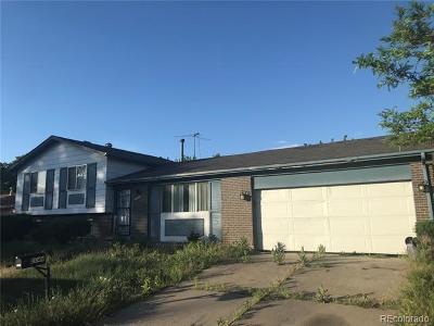 Denver Single Family Home Under Contract: 5044 Ursula Street