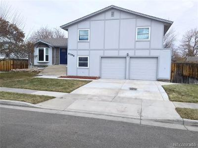 Arvada Single Family Home Active: 8398 Chase Drive