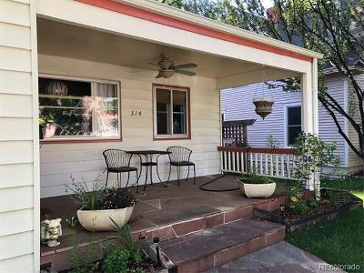 Longmont Single Family Home Under Contract: 314 Judson Street