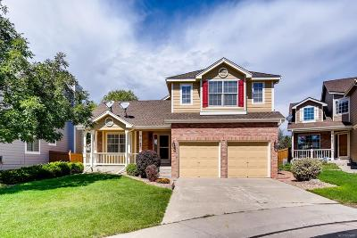 Centennial Single Family Home Active: 16747 East Belleview Place