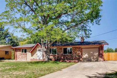 Arvada Single Family Home Active: 5359 Flower Circle