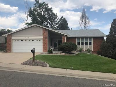 Arvada Single Family Home Under Contract: 10919 West 65th Way