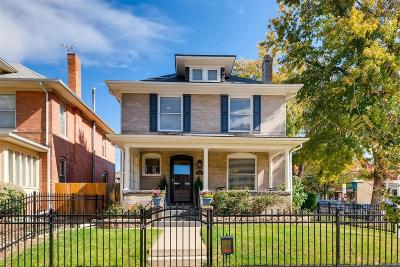 Denver Single Family Home Under Contract: 900 North Ogden Street