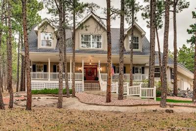 Monument Single Family Home Active: 1042 Golden Pine Lane