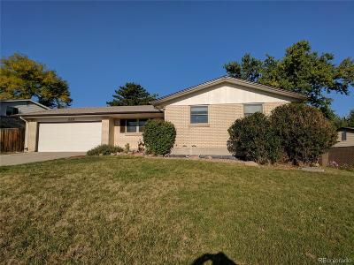 Lakewood Single Family Home Under Contract: 13537 West Alaska Drive