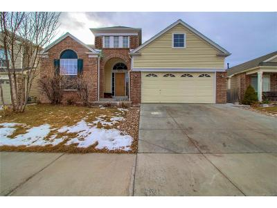 Commerce City Single Family Home Under Contract: 15336 East 99th Place