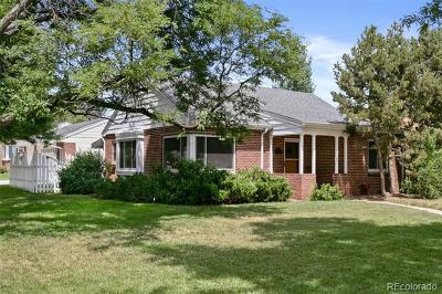 Denver Single Family Home Active: 7401 Montview Boulevard
