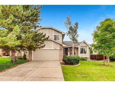 Littleton Single Family Home Active: 11777 West Cross Drive