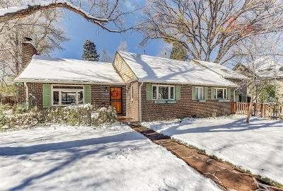 Denver Single Family Home Active: 1301 Olive Street