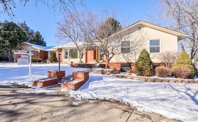 Littleton Single Family Home Active: 9 Glenridge Drive