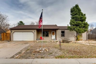Castle Rock Single Family Home Under Contract: 980 Mountain View Drive