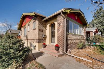 Denver Single Family Home Active: 3501 Lowell Boulevard