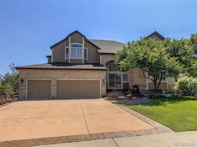 Lone Tree Single Family Home Active: 10794 Cougar Ridge