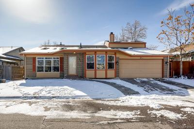 Broomfield Single Family Home Under Contract: 438 Hickory Street