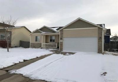 Greeley Single Family Home Active: 8410 18th Street Road