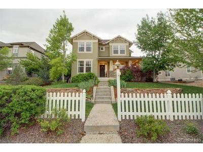 Lafayette Single Family Home Active: 433 West Indian Peaks Trail