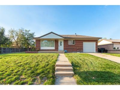 Northglenn Single Family Home Under Contract: 10823 Lincoln Street