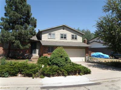 Arvada Single Family Home Active: 7388 Coors Drive