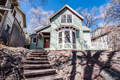 Manitou Springs Single Family Home Active: 1121 Manitou Avenue