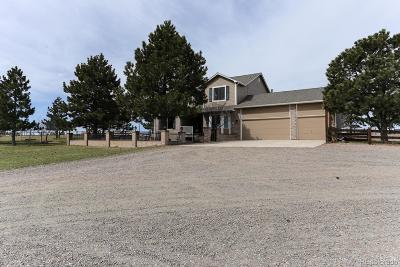 Parker CO Single Family Home Under Contract: $769,000