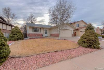 Aurora Single Family Home Active: 17410 East Eldorado Circle