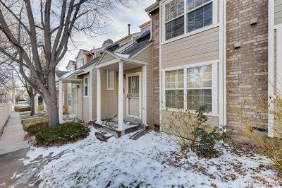 Denver CO Condo/Townhouse Active: $348,000