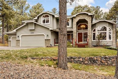 Monument Single Family Home Under Contract: 19960 Chisholm Trail