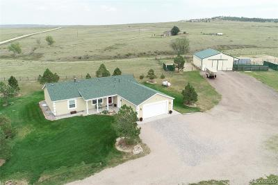 Kiowa CO Single Family Home Active: $599,900