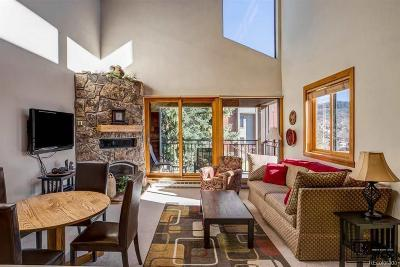 Steamboat Springs Condo/Townhouse Active: 2160 Mt Werner Circle #3240