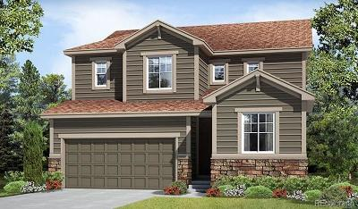 Castle Rock CO Single Family Home Active: $484,005