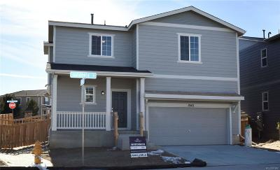 Castle Rock Single Family Home Under Contract: 1542 Goldfield Trail