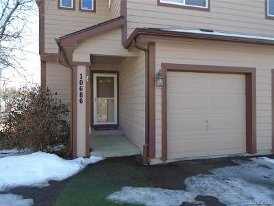Condo/Townhouse Under Contract: 10686 West 12th Lane