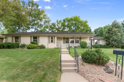Denver Single Family Home Active: 5294 West Oberlin Drive